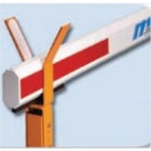 Magnetic AutoControl Octagonal Aluminum Barrier Arm for MTS (33ft) - MSB6N-100