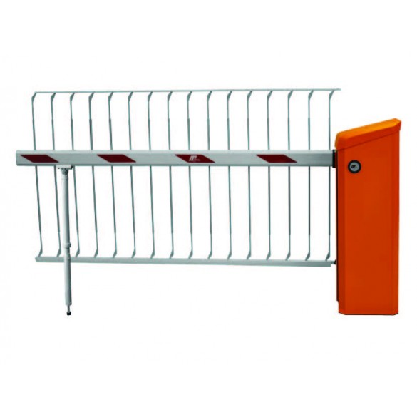 "Magnetic Barrier Arm Skirt 16.3 ft With 70"" Over-Climb Protection - GUE1800-050 (Barrier Arm and Support Post Sold Separately)"