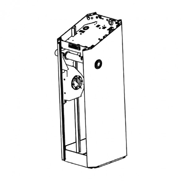 Magnetic AutoControl MicroDrive Housing Complete (White) - 2061.0040