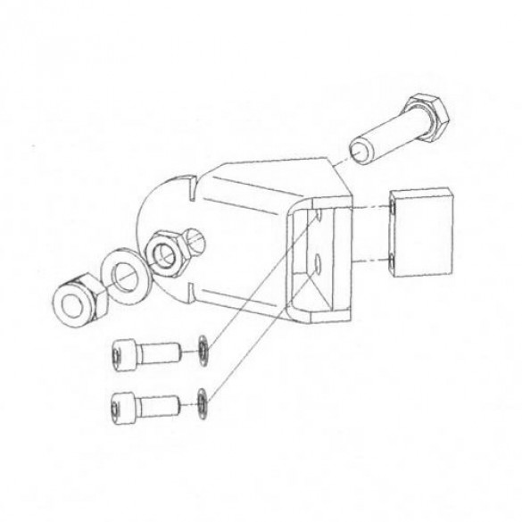 MicroDrive Articulated Forcing Lever Housing Bracket Kit - Magnetic AutoControl KB-HSG01