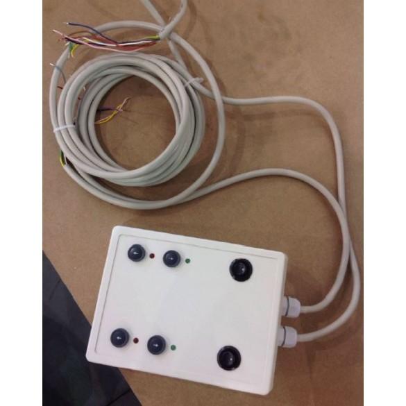 Magnetic AutoControl Desk Panel (Double) - PG02