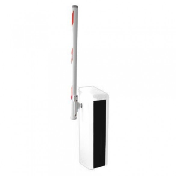 Magnetic Toll HiSpeed-RA01040 Barrier Opener w/ 10ft Round Boom (White)