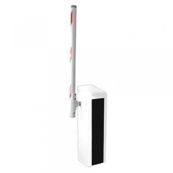 Magnetic Toll HiSpeed-RAA1040 Barrier Opener w/ 10ft Foam Boom (White) - TOLLHISPEED-RAA1040