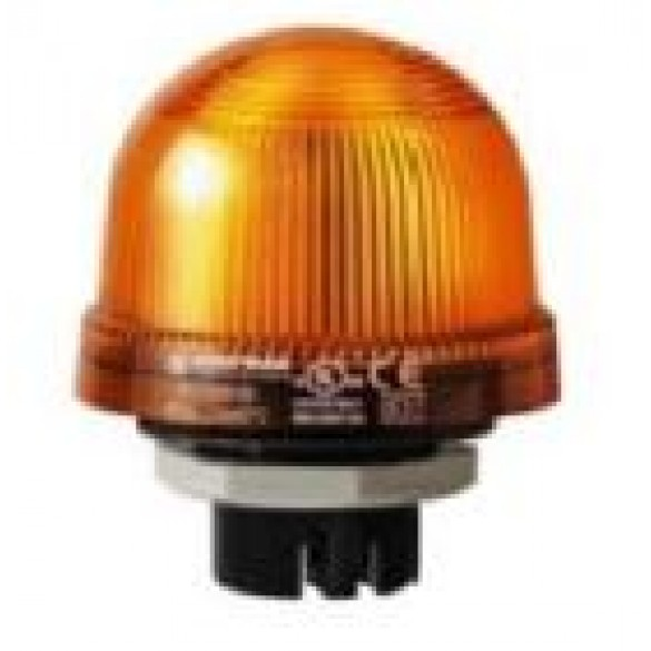 Magnetic AutoControl Xenon Flash Light (Orange)