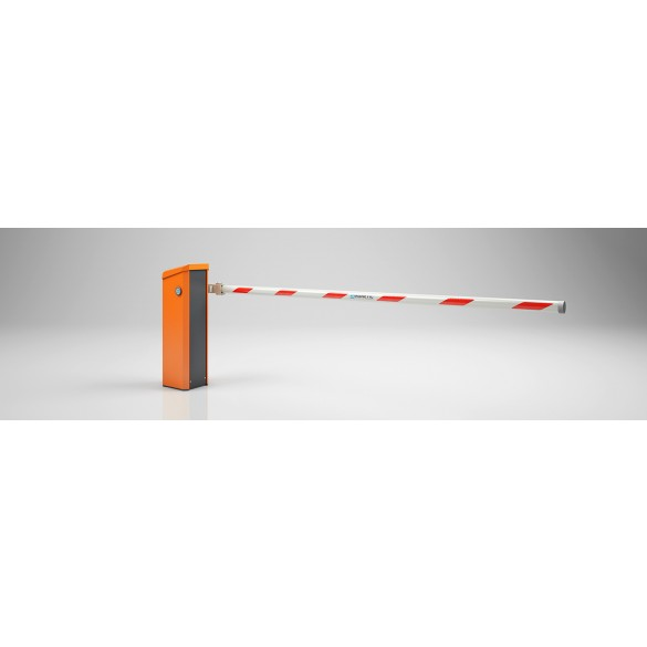 Magnetic Toll TOLL-RC01042 Barrier Opener w/ 10ft Round Boom (White)