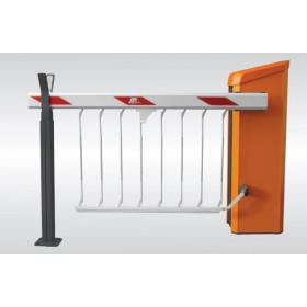 Magnetic AutoControl MicroDrive Boom Skirt for Support Post (12ft) Installed - GS01-12