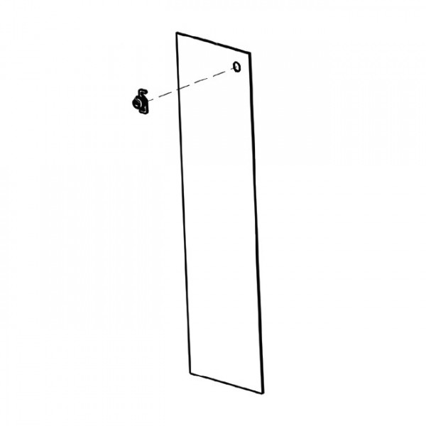 Magnetic AutoControl Tall Housing Door with Lock Complete - 1043.5376