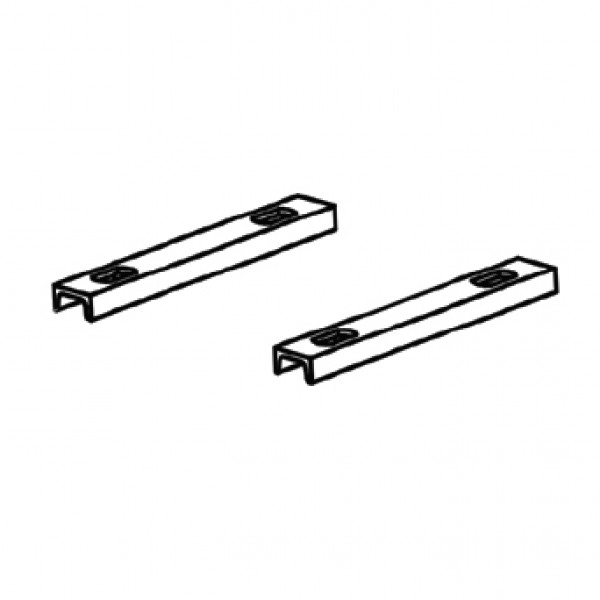 Magnetic AutoControl U-Rail Set (Set of 2) - BP02