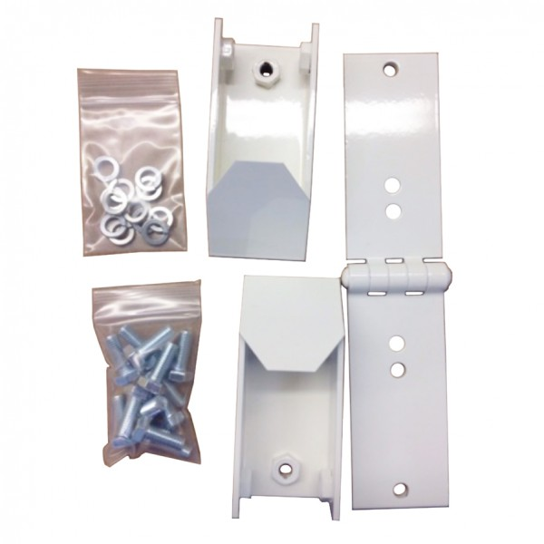 Magnetic AutoControl MSB5K Articulated Hinge Kit with Mounting Bolts - 1031.0222