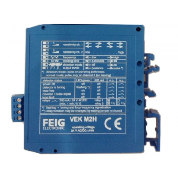 Magnetic AutoControl Dual Channel Loop Detector (24V) - MID2E-800