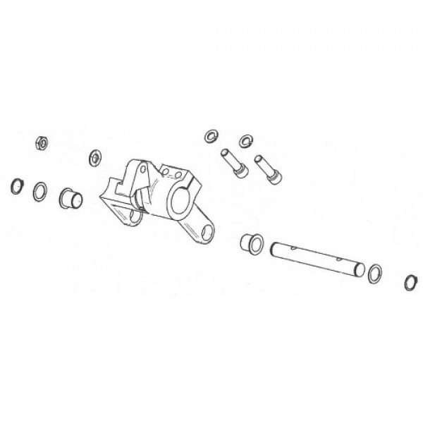 BDU Spring Lever Assembly - Magnetic AutoControl 1018.5000