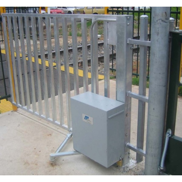 MRGB-C100PC Railway Pedestrian Gate Left Handed Opening