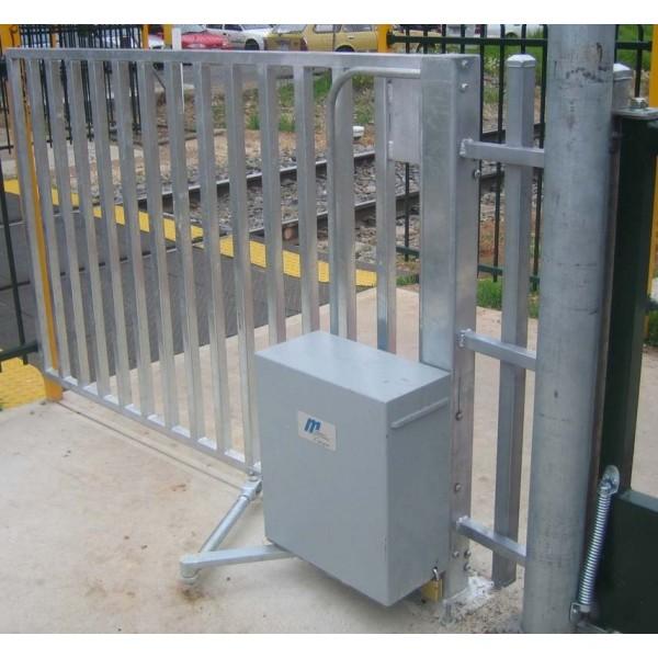MRGB-C100 Railway Pedestrian Gate Left Handed Opening