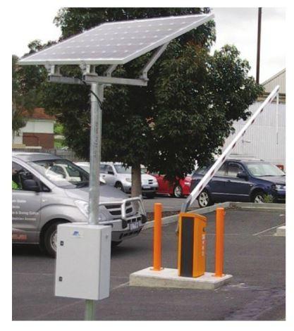 Magnetic AutoControl Solar Panel Installation