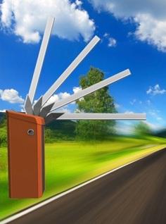 magnetic gate opener