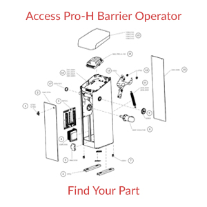 Magnetic AutoControl Access Pro H Operator Part Finder