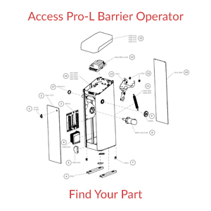 Magnetic AutoControl Access Pro L Operator Part Finder